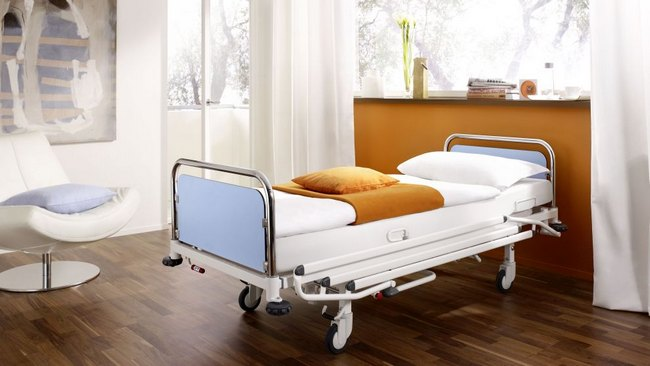 cama de hospital manual para el hogar extra resistente