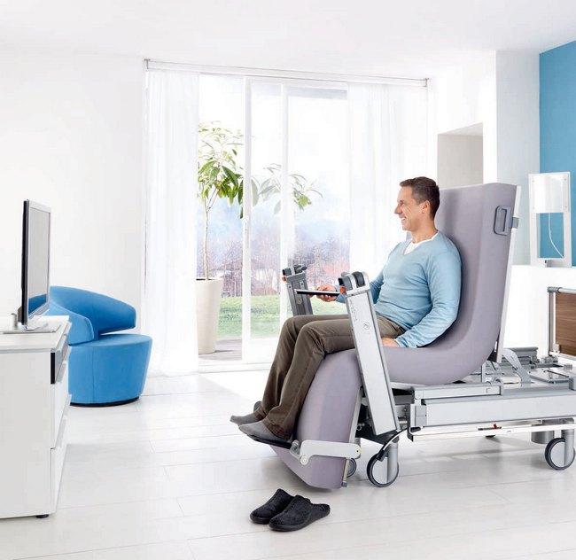 cama electrica de hospital para rehabilitacion en casa