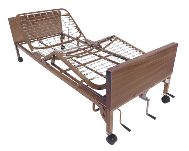 cama manual de hospital multi niveles