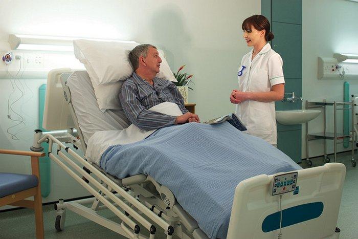 camas de enfermeria