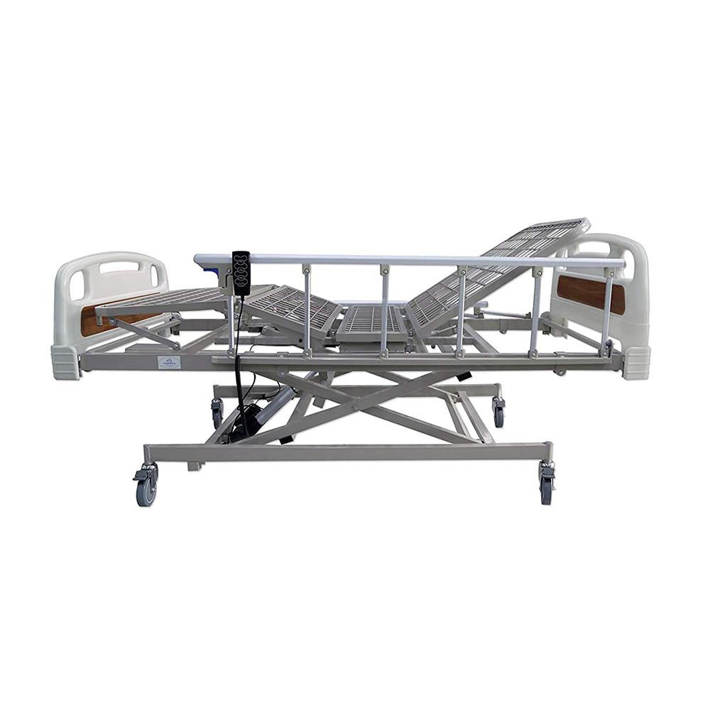 cama electrica con barandal